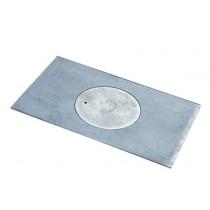 Płyta kuchenna 1-otworowa    63x31,5 żeliwna